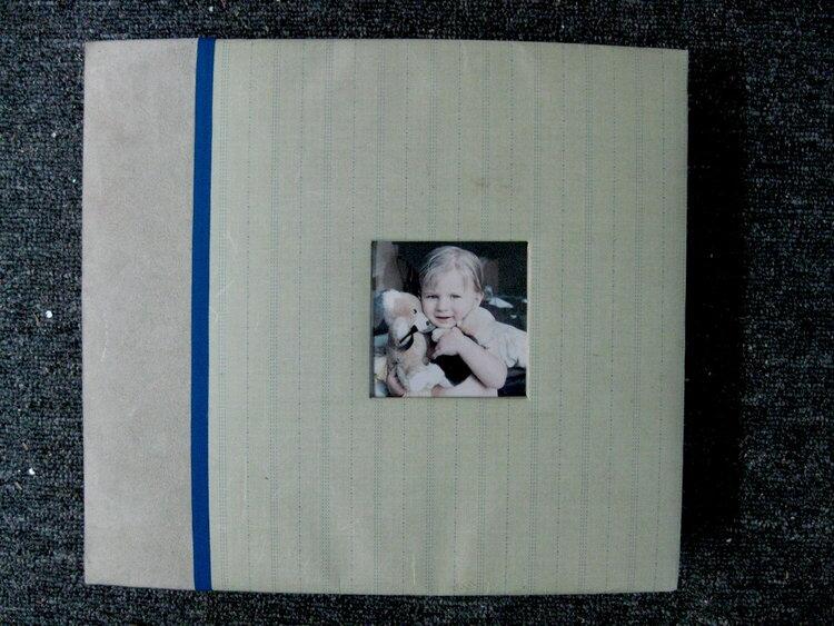 Kevin's album before embellishment