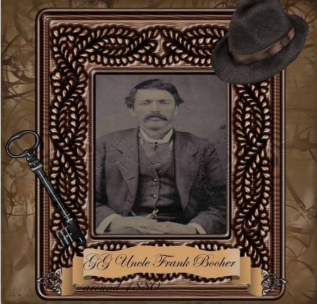 Great Great Uncle Frank Booher