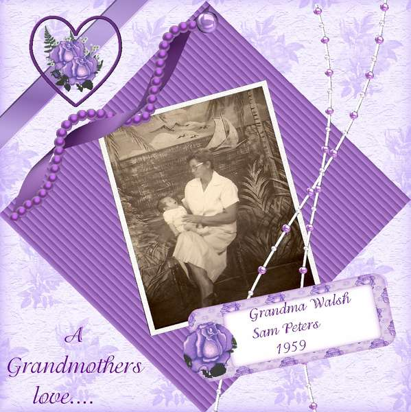A Grandmothers Love.. 1959