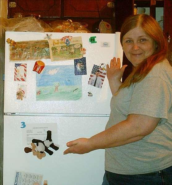 "photo a day mini challenge ""fridge"""