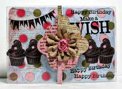 Birthday Card **Clear Scraps**