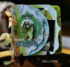 Spring **Clear Scraps** Album