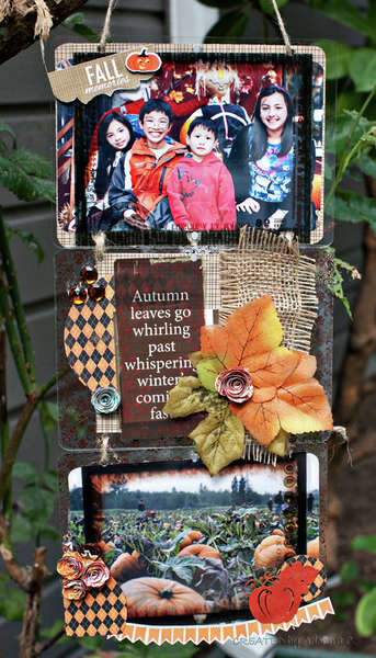 Fall Memories **Clear Scraps**