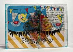 Birthday Card! **Clear Scraps**