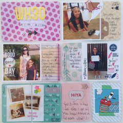 Project Life 2014 Wk 30 pg 1