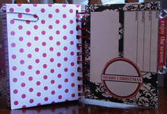 Christmas envelope album
