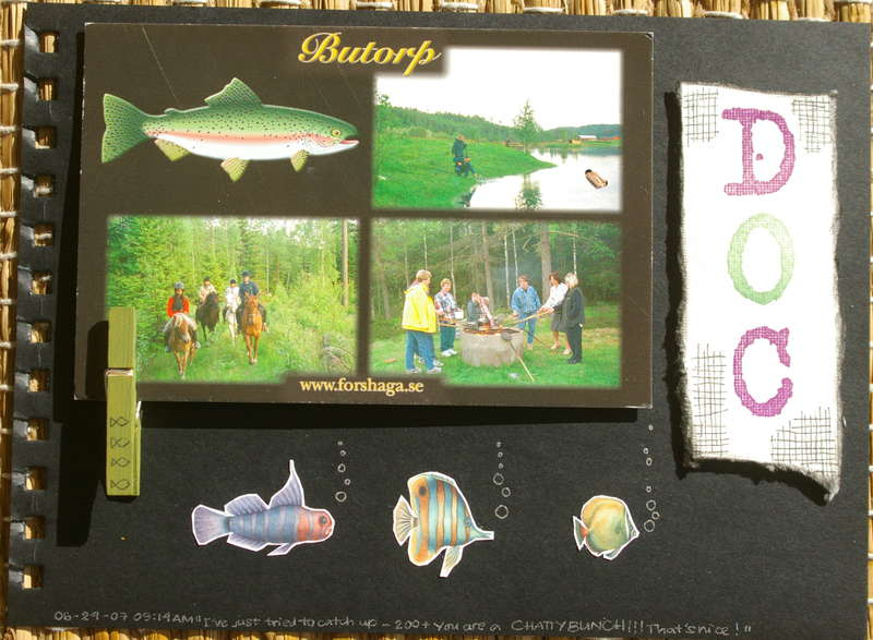 Minialbum Doc´s postcard