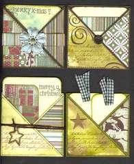 Criss Cross Christmas Cards