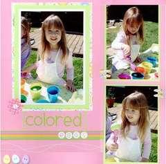 Colored Eggs (Left)