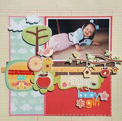 Happy Baby Girl-Mackenzie