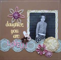 Daughter you are loved!
