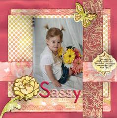 Sassy little girl