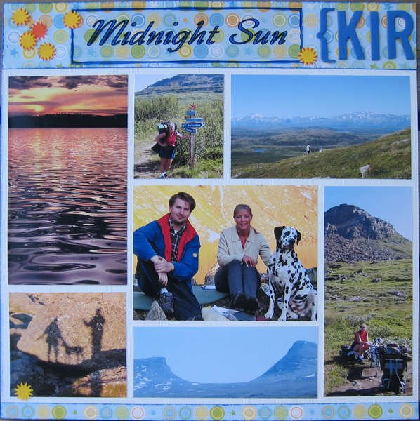 Kiruna - Midnight Sun, Polar Night (left side)