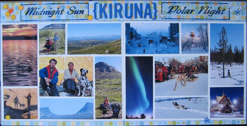 Kiruna - Midnight Sun, Polar Night (both pages)