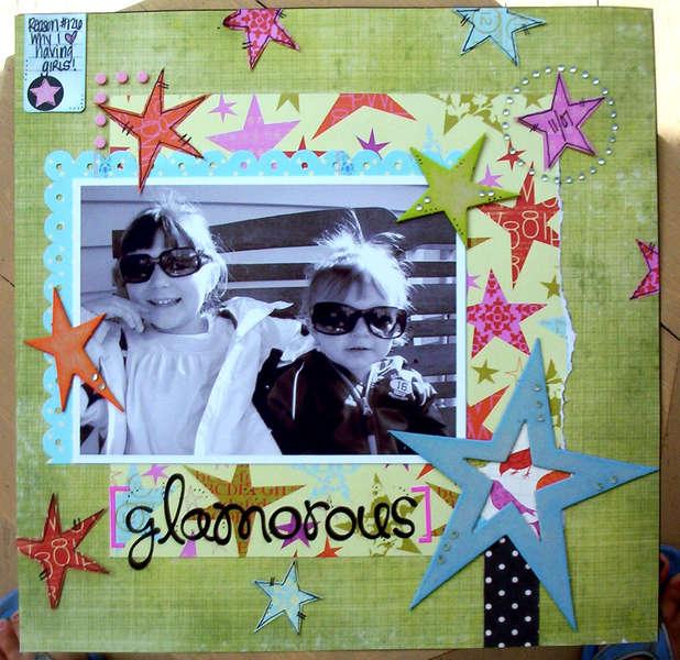 {glamorous}