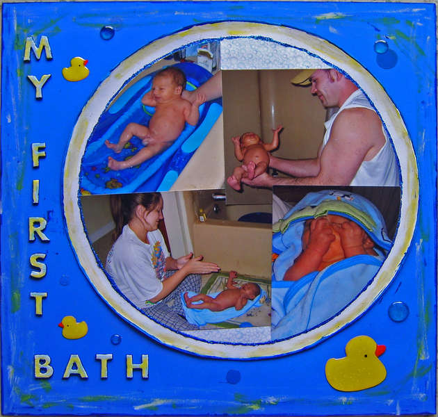My First Bath