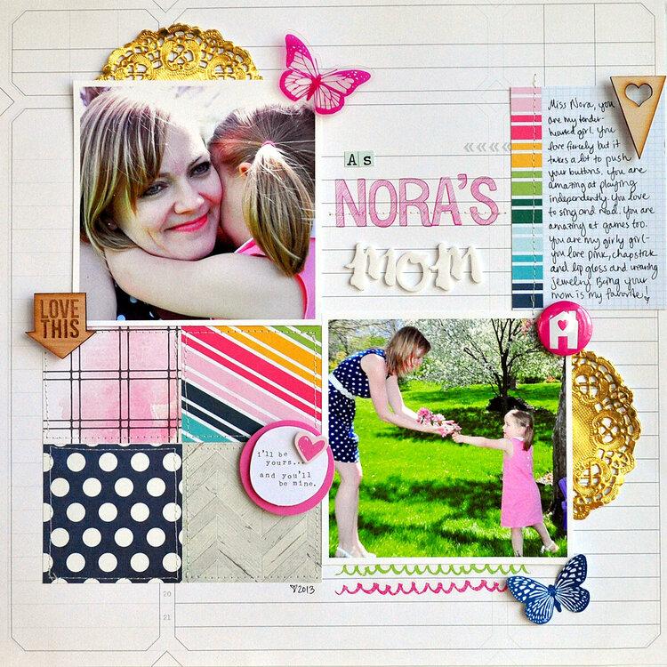 As Nora's Mom ~Gossamer Blue~