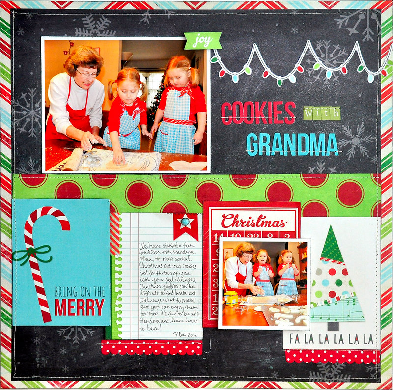 Cookies with Grandma ~NEW Simple Stories December Documented~