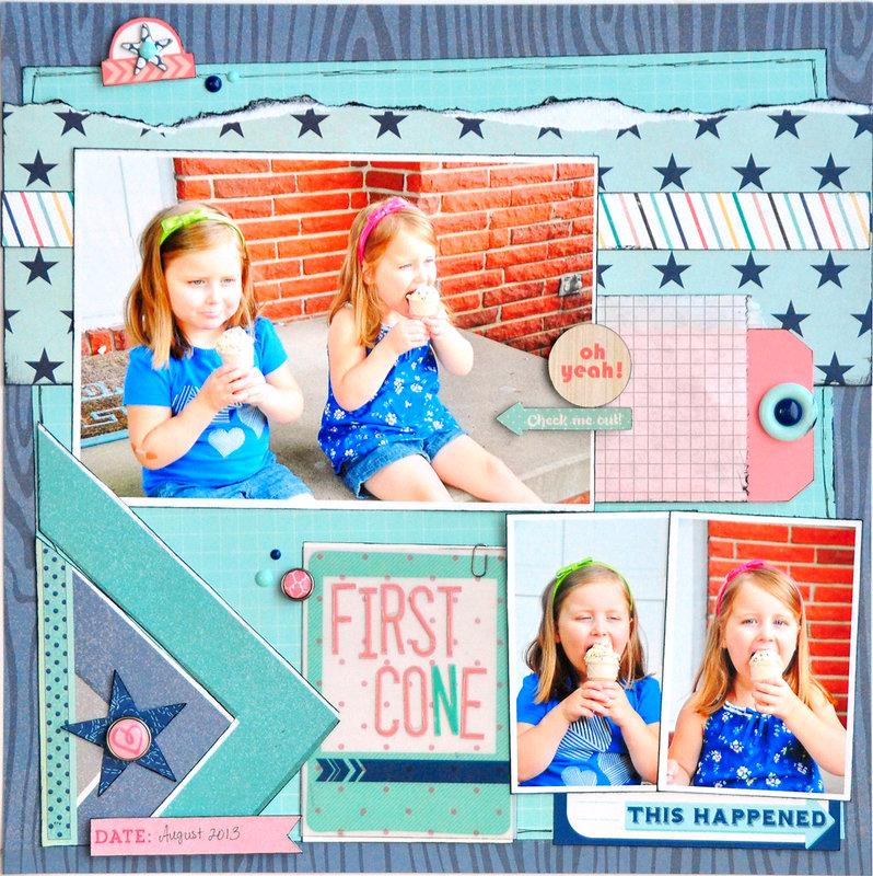 First Cone ~Gossamer Blue~