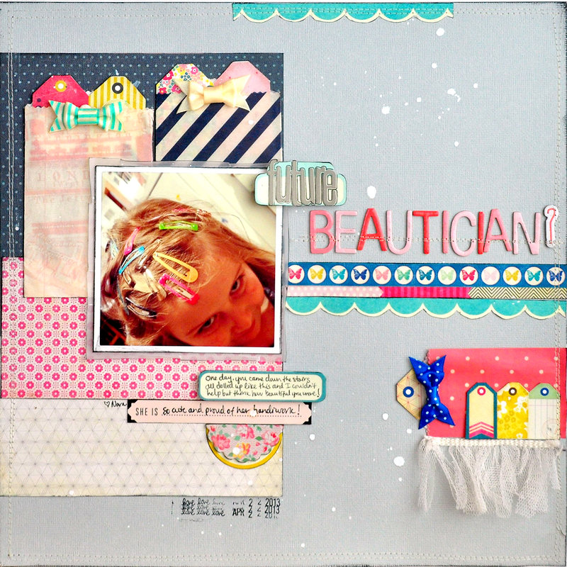 Future Beautician? ~Scrapbook Circle~