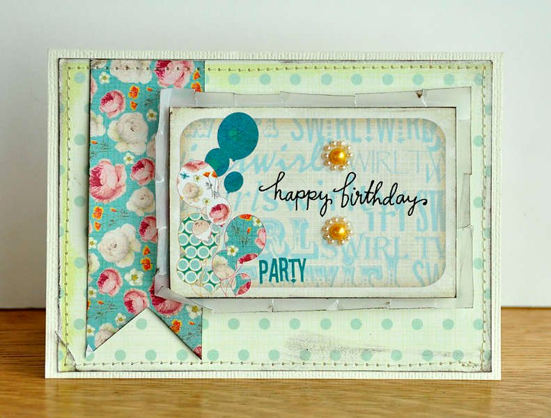 Happy Birthday Card ~Webster's Pages~