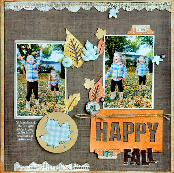 So Happy It's Fall ~Fancy Pants Designs~