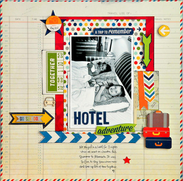 Hotel Adventure ~NEW Simple Stories~