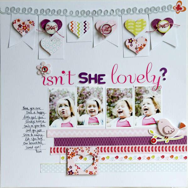Isn't She Lovely? ~Pebbles Inc.~