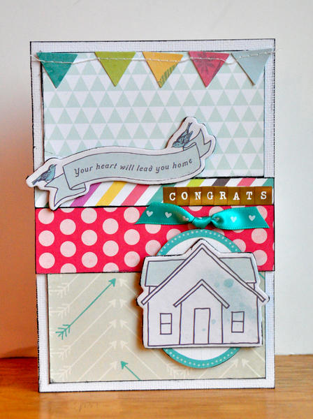 Your Heart Will Lead You Home card ~American Crafts~