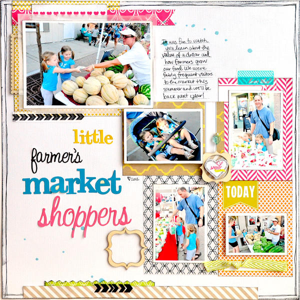 Little Farmer's Market Shoppers ~NEW Webster's Pages~