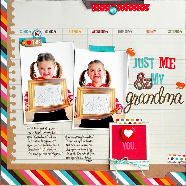 Just Me & My Grandma ~Simple Stories~