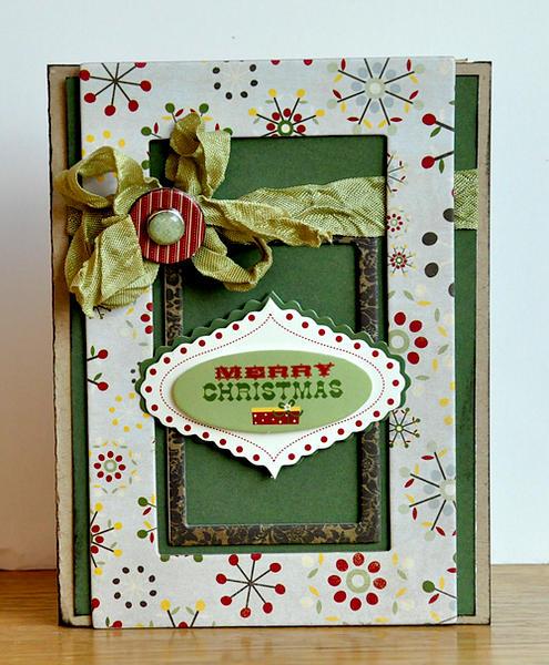 Merry Christmas card ~Fancy Pants~