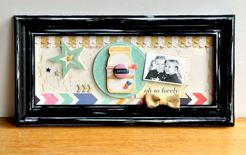 Oh So Lovely Frame ~American Crafts~