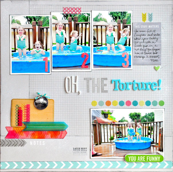 Oh, The Torture! ~NEW American Crafts~