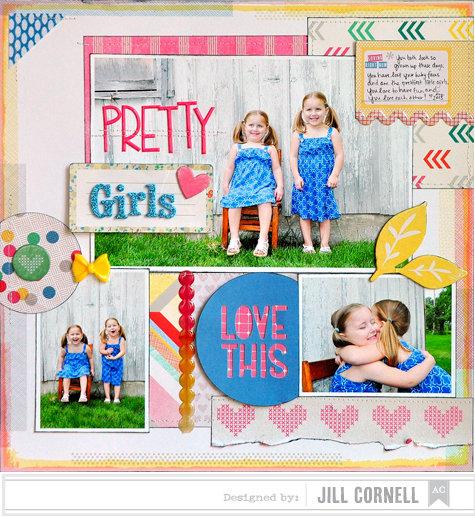 Pretty Girls ~American Crafts~
