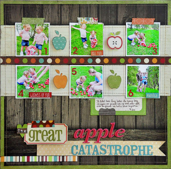 The Great Apple Catastrophe ~Simple Stories~