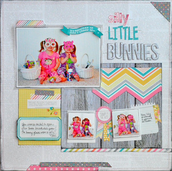 Silly Little Bunnies ~NEW Simple Stories~