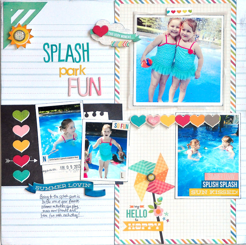 Splash Park Fun ~Simple Stories~