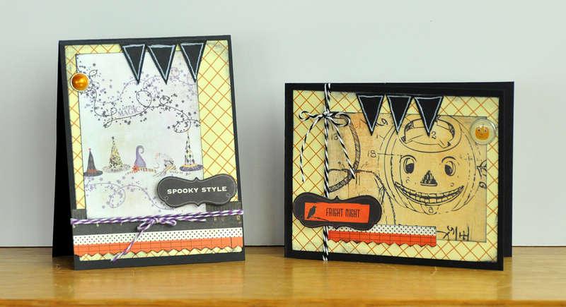 Spooky Cards ~Noel Mignon Something Wicked Kit~