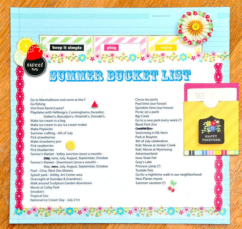 Summer Bucket List ~American Crafts~