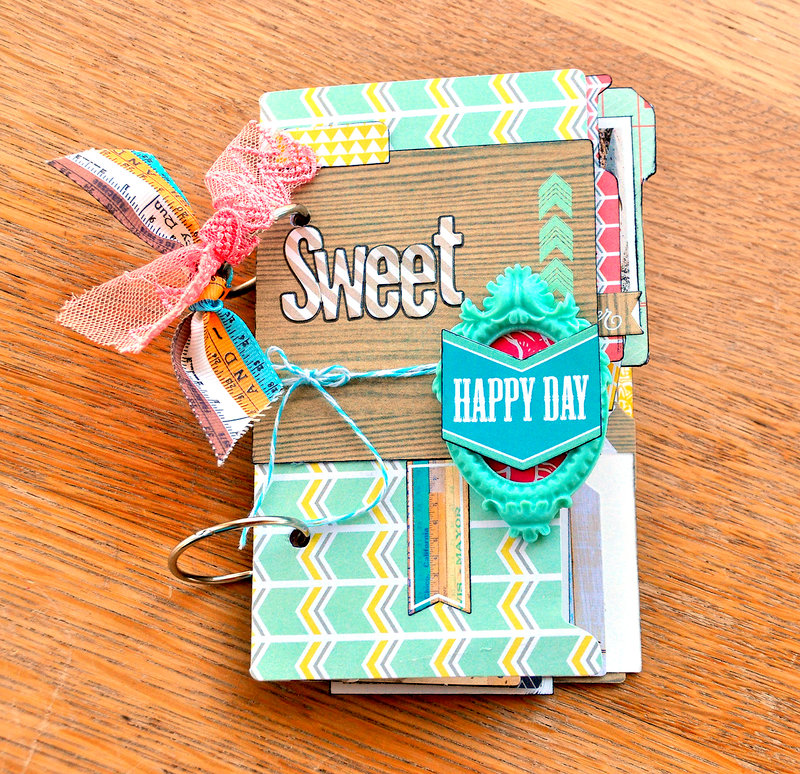 Sweet Happy Day Mini Album ~Webster's Pages~