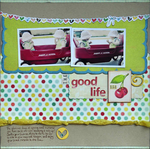 The Good Life ~June Midnight Rooster kit~