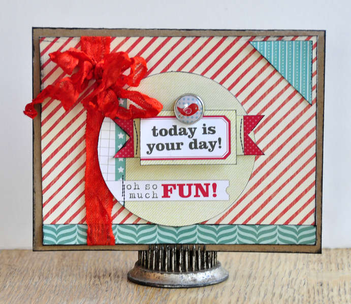 Today is your day card ~Elle's Studio~