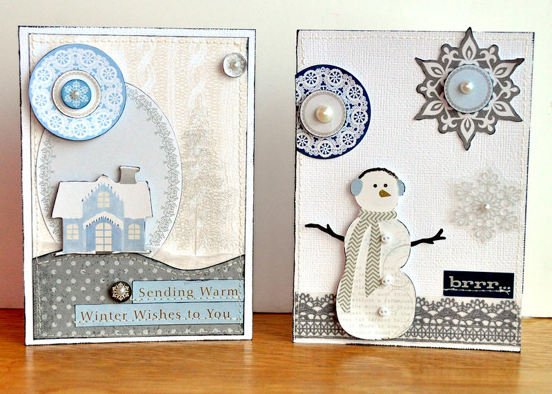 Warm Winter Wishes Card Set ~LYB~