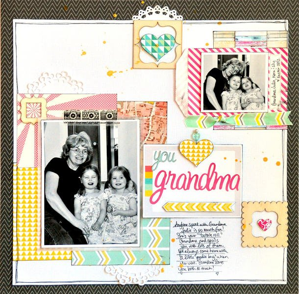 You Love Grandma ~NEW Webster's Pages~