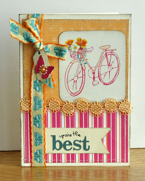 You're the best! Card ~Webster's Pages~