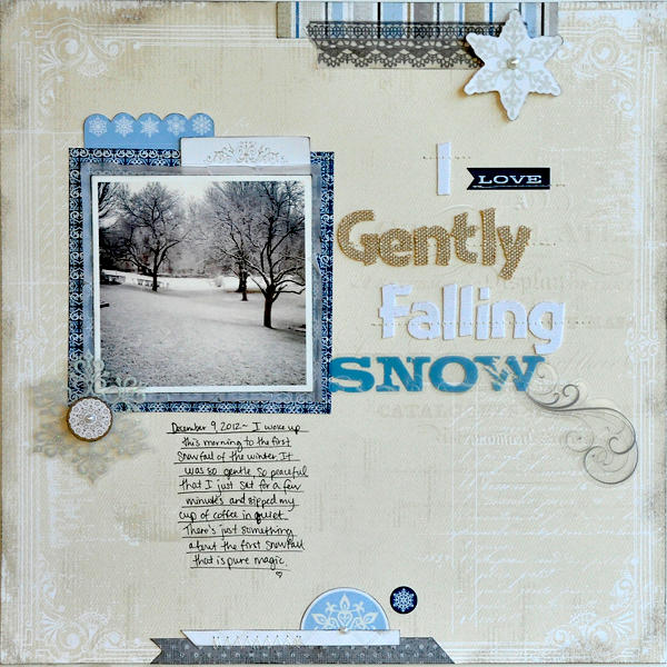 I Love Gently Falling Snow ~LYB~