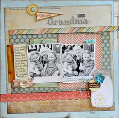 So Happy Together with Grandma ~Elle's Studio~