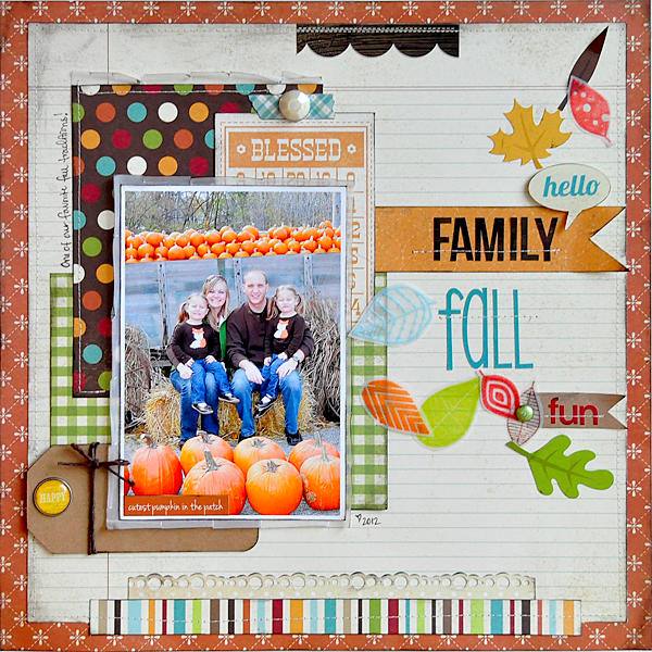 Hello Family Fall Fun ~Simple Stories~