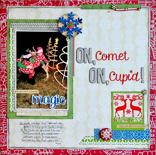 On, Comet On Cupid~ ~Studio Calico~